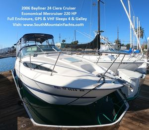 Used Bayliner 245 Cierra Express Cruiser Boat For Sale