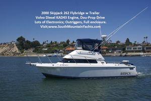 Used Skipjack 262 Flybridge Boat For Sale