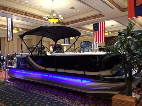 New South Bay 525 RS 30 Pontoon Boat For Sale