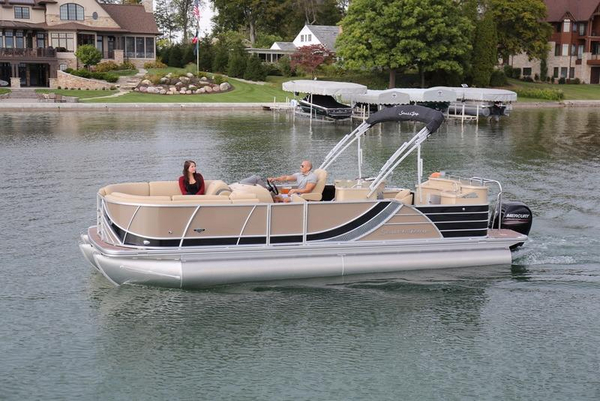New South Bay 725 Entertainer Deluxe 30 Pontoon Boat For Sale