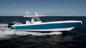 Used Intrepid 375 Center Console Saltwater Fishing Boat For Sale