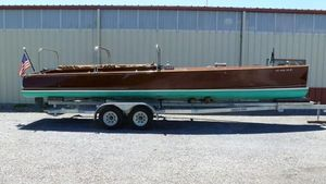 Used Custom Ditchburn Launch Antique and Classic Boat For Sale