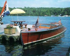 Used Custom Rochester Triple Cockpit Antique and Classic Boat For Sale