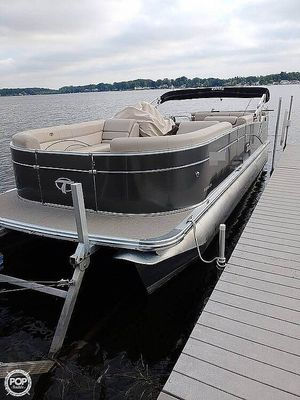 Used Tahoe Cascade 2285 Pontoon Boat For Sale