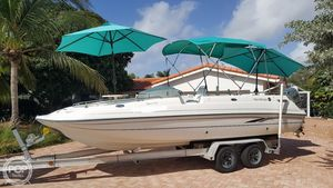 Used Harris Kayot 22 Super Dek OB Deck Boat For Sale