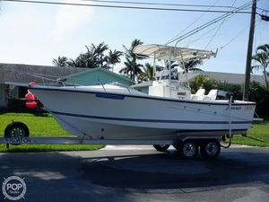Used Shamrock 220 Stalker Center Console Fishing Boat For Sale