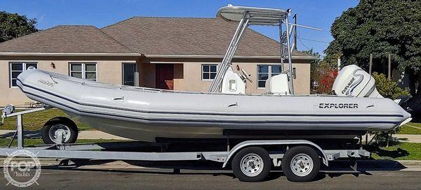 Used Zodiac Bombard Explorer 700 Center Console Fishing Boat For Sale