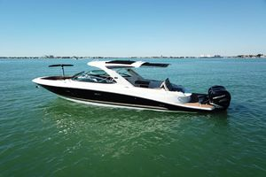 Used Sea Ray SLX 350 Outboard Sports Cruiser Boat For Sale