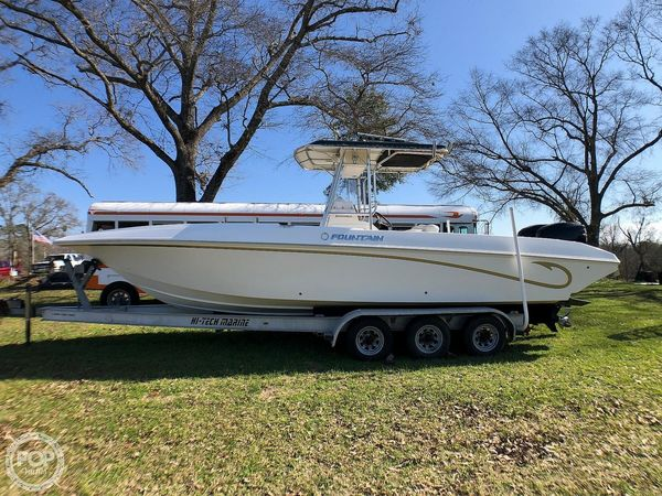 Used Fountain 29 Center Console Fishing Boat For Sale