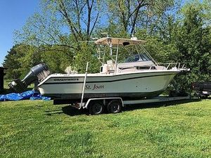 Used Grady-White 268 Islander WA Walkaround Fishing Boat For Sale
