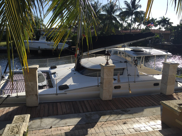 Used Fountaine Pajot 35 Catamaran Multi Hull Sailboat Catamaran Sailboat For Sale