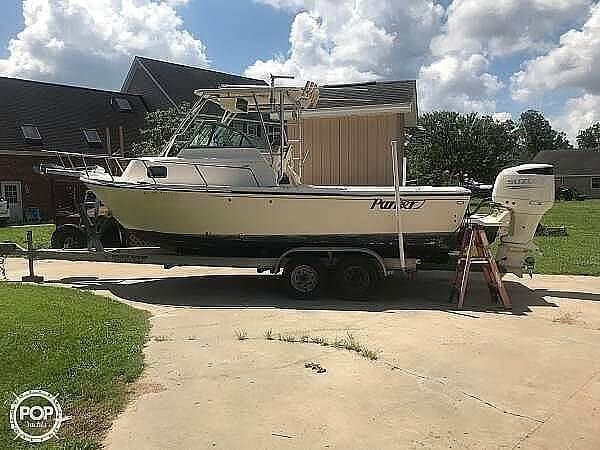Used Parker Marine 2310 DV Walkaround Fishing Boat For Sale