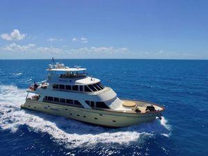 Used President Tri Deck w/FB Motor Yacht For Sale