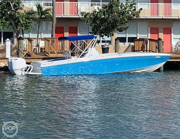 Used Scarab 302 Sport Center Console Fishing Boat For Sale