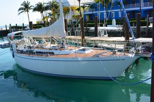 Used Ted Hood 38 Sloop Sailboat For Sale