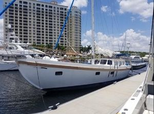 Used Custom Cutter Rig Double Ender Pilothouse Sailboat For Sale
