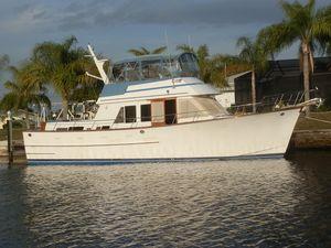 Used Ocean Alexander 43 Double Cabin Trawler Boat For Sale