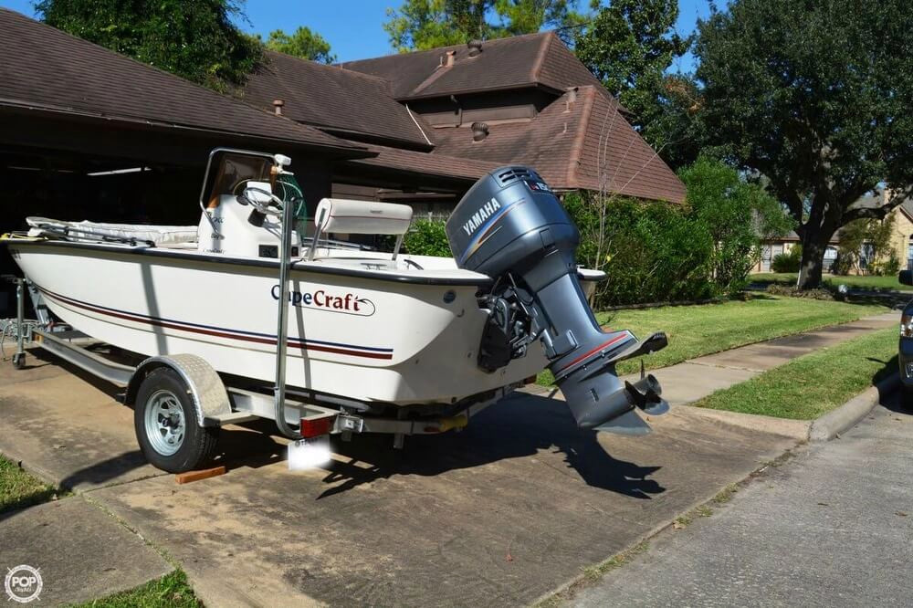 2008 Used Cape Craft 19 Bay Boat For Sale 17 500