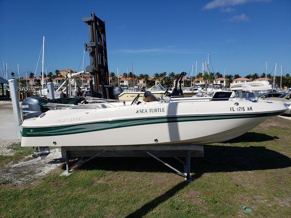 Used Azure Az210 OB Cruiser Boat For Sale
