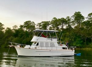 Used Marine Trader 36 Double Cabin Trawler Boat For Sale