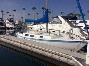 Used Cal 27 Pop Top Daysailer Sailboat For Sale