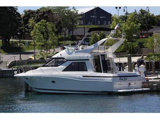 Used Bayliner 3488 Avanti Command Bridge Flybridge Boat For Sale