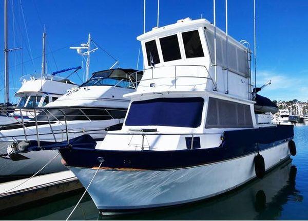Used Californian 38 Californian W/ Enclosed Flybridge Trawler Boat For Sale
