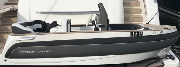 Used Carbon Craft Cc130 Tender Boat For Sale