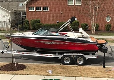 Used Monterey 204 FSX Bowrider Boat For Sale