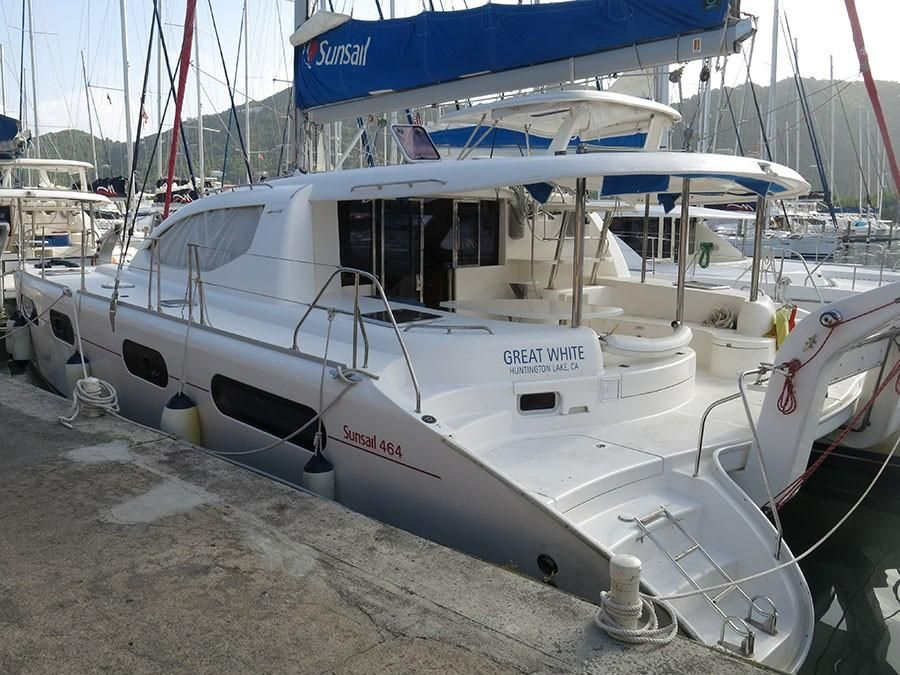 2010 Used Leopard 46 Catamaran Sailboat For Sale ...