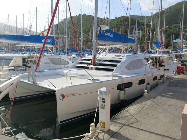 Used Leopard 46 Catamaran Sailboat For Sale