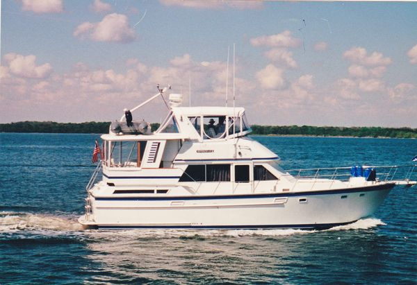 Used Jefferson 42 Sundeck Trawler Boat For Sale