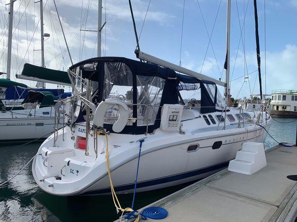 Used Hunter 460 Motorsailer Boat For Sale