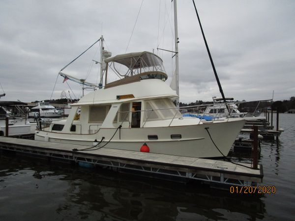 """Used Pacific Seacraft """"38"""" Fast Trawler Motor Yacht For Sale"""