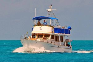 "Used Marine Trader ""36"" Trawler Motor Yacht For Sale"