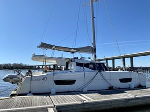 Used Fountaine Pajot Lucia 40 Catamaran Sailboat For Sale