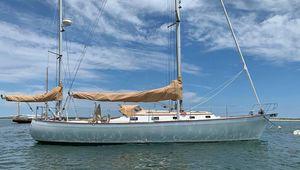 Used Brooklin Boat Yard Custom 45 Yawl Racer and Cruiser Sailboat For Sale