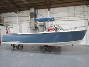 Used Vanquish 24 Runabout Downeast Fishing Boat For Sale