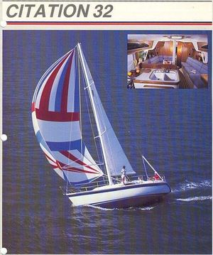 Used Irwin Citation 32 Cruiser Sailboat For Sale