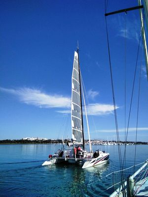 Used Crowther Shockwave Catamaran Sailboat For Sale