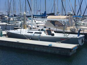 Used Catalina Capri 25 Sloop Sailboat For Sale