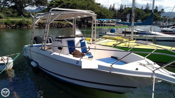 Used Wellcraft 240 CCF Center Console Fishing Boat For Sale