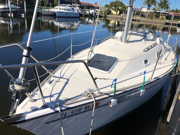 Used Pearson Shoal Draft Sloop Sailboat For Sale
