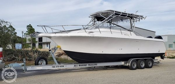 Used Pro-Line 30 Express Walkaround Fishing Boat For Sale