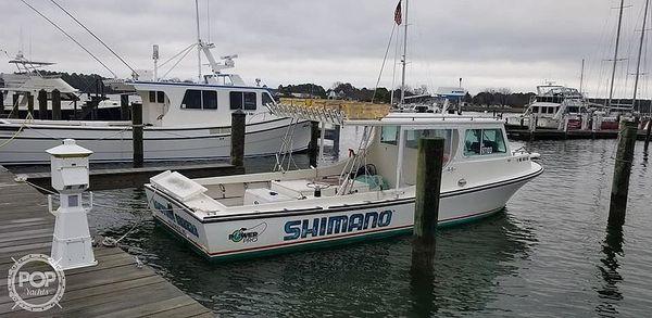 Used Kinnamon Baybuilt 32 Sports Fishing Boat For Sale