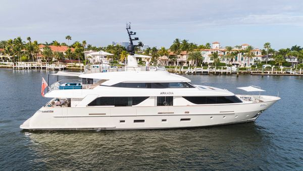Used Sanlorenzo SD112 Motor Yacht For Sale