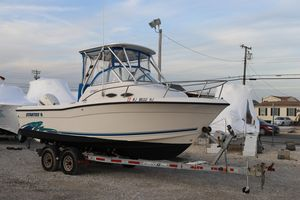 Used Stratos 2160 Walk Around Center Console Fishing Boat For Sale