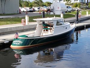 Used Custom 38 Draketail Launch Commercial Boat For Sale
