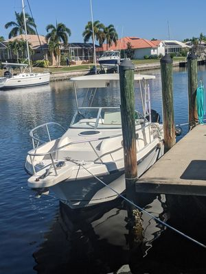 Used Mako 253 Walk Around Center Console Fishing Boat For Sale