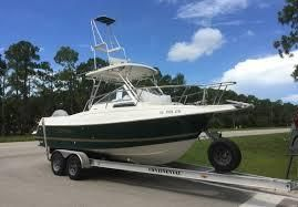 Used Aquasport 24 Walk Around - 245 Explorer Center Console Fishing Boat For Sale